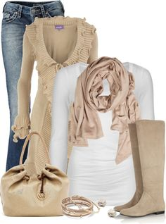 """Loving Loving that cardigan"" by cindycook10 ❤ liked on Polyvore"