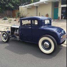 Living The Highboy Life Fancy Cars, Cool Cars, Classic Hot Rod, Classic Cars, Hot Rods, American Graffiti, Traditional Hot Rod, Custom Choppers, Hot Rod Trucks