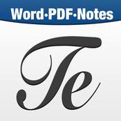 Textilus - según dice la reseña es el procesador de textos más avanzado, así que perfecto para poder sacarle partido.
