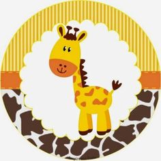 Sweet Jungle: Free Printable Wrappers and Toppers for Cupcakes. Giraffe Birthday, Jungle Theme Birthday, Safari Theme Party, Safari Birthday Party, Jungle Party, Animal Birthday, Baby Scrapbook, Animal Party, Baby Boy Shower