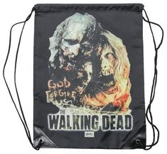 (15x19) The Walking Dead - Zombies Drawstring Bag @ niftywarehouse.com