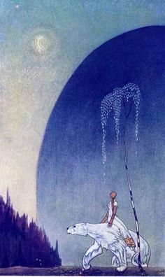 """Kay Nielsen """"East of The Sun West of The Moon"""""""