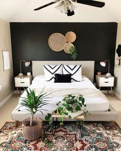 Home Interior Salas .Home Interior Salas Home Decor Inspiration, Home Decor Bedroom, Home Bedroom, Home Remodeling, Boho Gallery Wall, Cheap Home Decor, Home Decor, House Interior, Apartment Decor