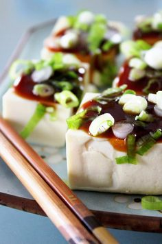 Recipe: Chilled Tofu Salad with Sweet Soysauce and Negi Scallions|豆腐サラダ