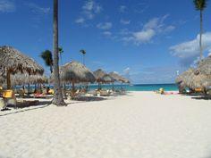The beach at the Iberostar Grand Bavaro in Punta Cana, DR