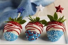 Switch it up this year and celebrate the 4th with some edible sparklers!