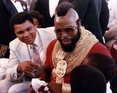 Muhammad Ali and Mr. T