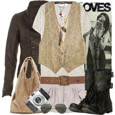 Hippy style :)