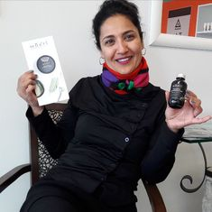 """😘 We have been introduced to the gorgeous Australian certified organic range called MUKTI. ❤️ I am personally in love with the serums 🤗 Narges pictured here with her favourite - the """"Mukti Balancing Foaming Cleanser"""" and we have been browsing the info booklet - soon to try some more fab products ☺️❤️  This range is currently stocked by @maddalenaemilyrevis at @spaandcelebration. Beauty Review, Booklet, Cleanser, Serum, June, Organic, Products, Cleaning Supplies, Beauty Products"""