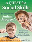 Read PDF A QUEST for Social Skills for Students with Autism or Asperger s: Ready-to-use Lessons with Games, Role-play Activities, and More! - For Ipad - By JoEllen Cumpata Social Skills Autism, Social Skills Lessons, Teaching Social Skills, Teaching Tools, Life Skills, Teaching Kids, Autism Activities, Autism Resources, Health Resources