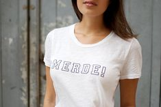 """Yes i know it means """"Shit"""" in French but in the ballet world it means good luck so therefore I want this shirt for performances"""