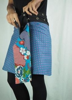 À vendre sur #vintedfrance ! http://www.vinted.fr/mode-femmes/autres-jupes/32177865-jupe-reversible-taille-reglable-pacap-bouton-pression