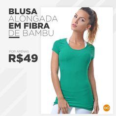 Blusa muito macia e com disponibilidade de 8 cores diferentes... Porque básico não precisa ser sinônimo de chato!! #EssentialsLivreeLeve #TemNaLivreeleve
