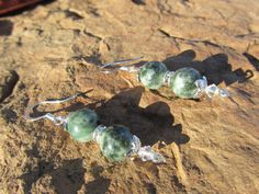 One of a Kind Teal shaded Russian Jade by NaturesRandMDesign