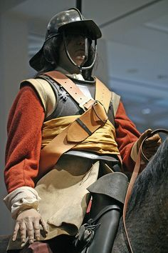 English Civil War cavalryman, - Visit to grab an amazing super hero shirt now on sale! Historical Costume, Historical Clothing, British History, American History, Conquistador, Renaissance, Thirty Years' War, Early Modern Period, Men In Uniform