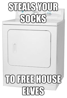 This actually would make me less angry about losing socks. Haha.