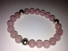 I made this myself! Please purchase to support, it is currently for sale in my mom's store :) ... pale pink rose quartz s and Hill Tribes by CHAMPAGNEANDMERMAIDS, $30.00