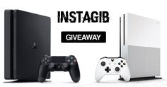 Help me win this Xbox One S and Playstation 4 Pro #Giveaway!