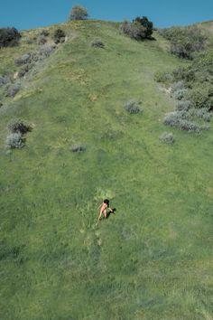 grassy hillside naturist purenudism