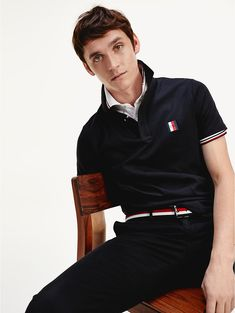 Mens Rugby Shirts, Polo T Shirts, Popped Collar, Slim Fit Polo, Camisa Polo, Tommy Hilfiger Shirts, Long Sleeve Polo, Polo Ralph Lauren, Menswear Trends
