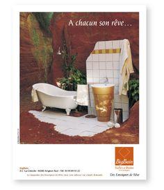 Campagne presse Big Bain Blue Press, Simple, Bathtub, Rural Area, Standing Bath, Bathtubs, Bath, Bath Tub, Tub