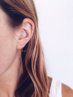 Harpoon Threader Earring and Stippled Ring / Rackk and Ruin