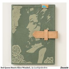 Red Queen Hearts Alice Wonderland Cards Goth Art Journal