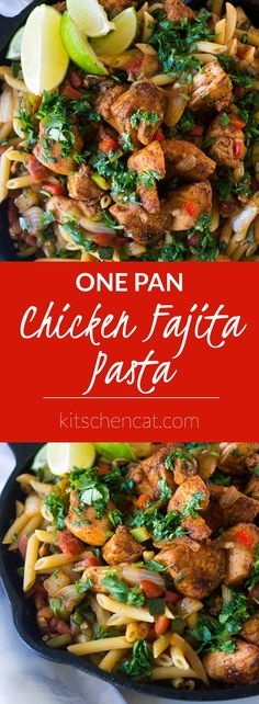 From The New Camp Cookbook by Linda Ly, this One-Pan Chicken Fajita Pasta is a crowd pleaser that keeps dishes to a minimum!