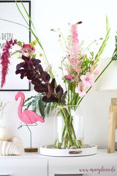 Glass Vase, Inspiration, Interior, Plants, Emerson, Home Decor, German, Blog, Creative Ideas