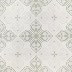 Gres szkliwiony PATCHWORK CONCEPT white-grey flores satin 29,8x29,8 gat. I Kobe, Art With Meaning, Z Arts, Leroy Merlin, Black Pattern, Tile Floor, Tiles, Concept, Texture