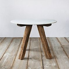 Marble Top Dining Table, 3.5'