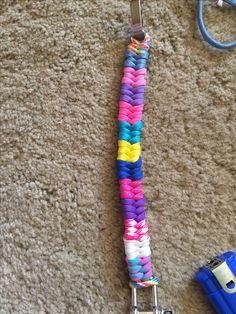 Multicoloured fishtail bracelet                                                                                                                                                                                 More