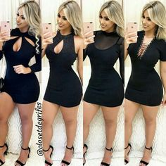 Sexy Outfits, Sexy Dresses, Cute Dresses, Beautiful Dresses, Short Dresses, Girl Outfits, Fashion Dresses, Cute Outfits, Vetement Fashion