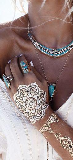 Bohemian jewels style…