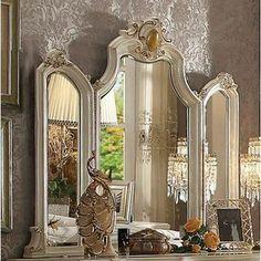 Rosdorf Park Jardine Traditional Arched Dresser Mirror