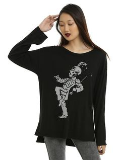 My Chemical Romance Pepe Girls Sweater, BLACK