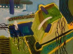 "Saatchi Art Artist Pierre-Yves Beltran; Painting, ""ARBRE EN FLEURS#"" #art"