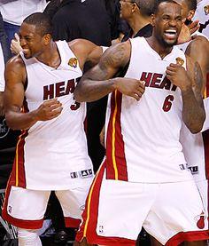 D-Wade, LeBron James