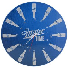 Easily check the time with this Miller Coors Lite clock from LumiSource