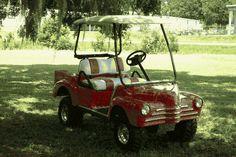 Melissa's Golf Cart Custom Body Kits - click 4 Body Kits Custom Golf Cart Bodies, Custom Golf Carts, Golf Cart Body Kits, Custom Body Kits, House 2, Vintage Cars, Beach House, Beach Homes, Classic Cars