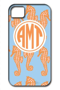 Swimming Seahorses Phone Cases