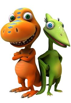 Picture: Buddy and Tiny on 'Dinosaur Train.' Pic is in a photo gallery for Tiny from Dinosaur Train featuring 7 pictures. Le Dino Train, Dinosaur Train Party, Dinosaur Funny, Dinosaur Birthday, Pbs Kids, Kids Tv, Disney Tangled, Arte Audrey Hepburn, Die Dinos Baby