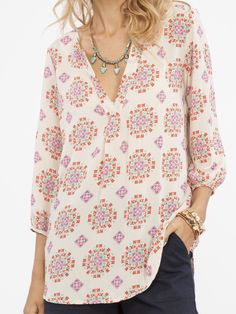 Kaleidoscope Tunic Top