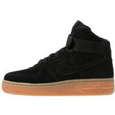 Nike Sportswear AIR FORCE 1 Hightop trainers (190 AUD) ? liked on Polyvore  featuring