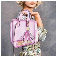 Moschino Verão 2017 .. .. .. .. #cliquefashionoficial #instamoda #jeremyscott #moschino #pfw #bags #trends #fashiontrends #instafashion #moda #modasorocaba #tendenciasverao2017 #fashion #cliquefashion