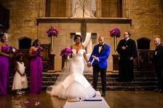 Dionna and Jordan's Modern Vibrant Wedding in Chicago Cute Jordans, From Miss To Mrs, High School Sweethearts, Marry You, Here Comes The Bride, Wedding Photos, Wedding Ideas, Vibrant, Chicago