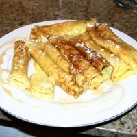 Swedish Pancakes Crepes Recipe