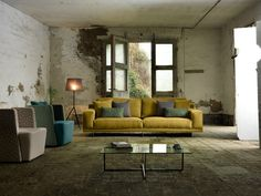 BRESSON 3 seater sofa Bresson Collection by Domingo Salotti