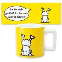 Tasse groß »Wortheld« gelb 0,45l