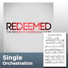 Redeemed (Orchestration) - The Brooklyn Tabernacle Online Store